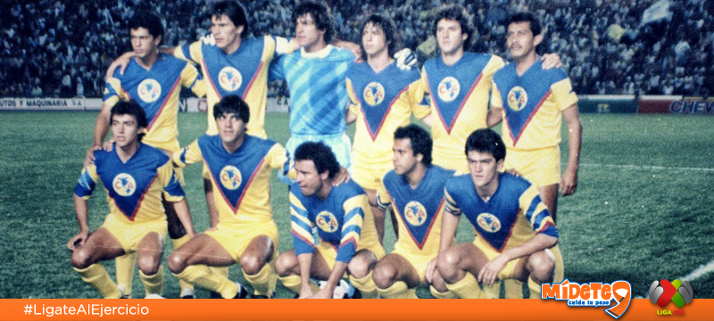 Club América vs Pumas – Gran Final 1985 América Campeón