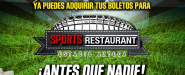¡SPORTS RESTAURANT ESTADIO AZTECA!