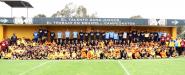 Pequeños del Curso de Verano Nido Águila conviven con primer equipo