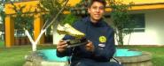Rubén Lozada, campeón de goleo Milk Cup