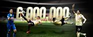 Seis millones de Águilas en Facebook