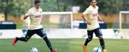 Zúñiga y Buron entrenan con la Selección Sub 21