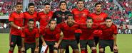 Americanistas en el partido amistoso México 0-0 Chile
