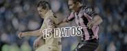 15 Datos América vs Querétaro