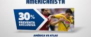 Preventa exclusiva América vs Atlas
