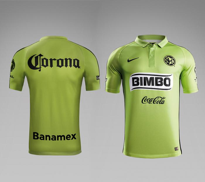 El tercer uniforme am rica 2015 la cancha del club america for Cuarto uniforme del club america