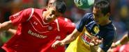 Paul Aguilar debutó como americanista ante Toluca