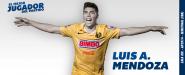Luis Ángel Mendoza: el mejor contra Monterrey