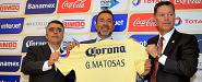 Matosas fue presentado en Coapa