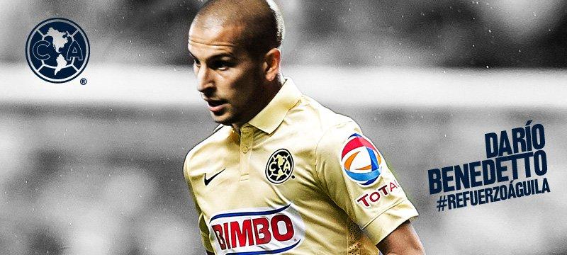 Darío Benedetto refuerzo Americanista - Club América - Sitio Oficial