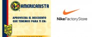 Descuento exclusivo Nike Factory Store