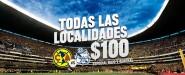 Precios de los boletos partido América vs Puebla