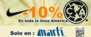 Recibe un 10% de descuento en tus compras en Martí