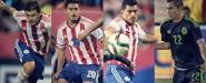 4 Americanistas participan en el duelo México vs Paraguay