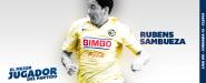 Rubens Sambueza: el mejor contra Monterrey