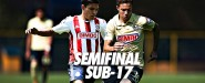 América vs Chivas semifinales Sub 17