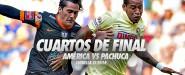 Pachuca el rival de América en cuartos de final