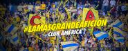 Afición Americanista en el Azteca Clausura 2015