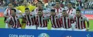 Americanistas en el empate de Paraguay 2-2 Argentina