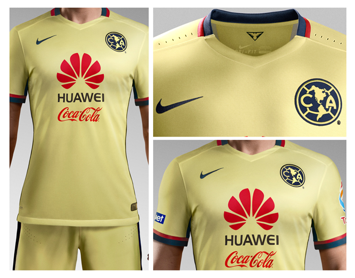 Nuevo jersey guila club am rica sitio oficial for Cuarto uniforme del america
