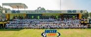 Primer equipo convive con niños del Soccer Camp Club América