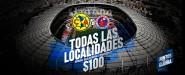 Precios boletos América vs Veracruz