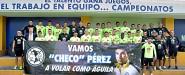 Club América desea éxito a Sergio Pérez