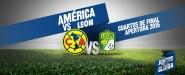 Infografía América vs León cuartos de final