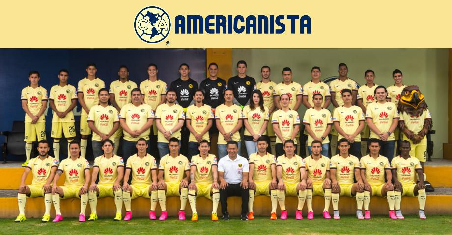 Forma parte de la foto oficial - Club América - Sitio Oficial