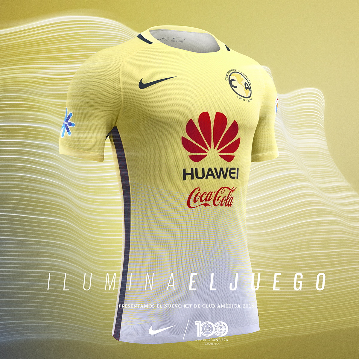 Am rica presenta el uniforme del centenario club am rica for Cuarto uniforme del america