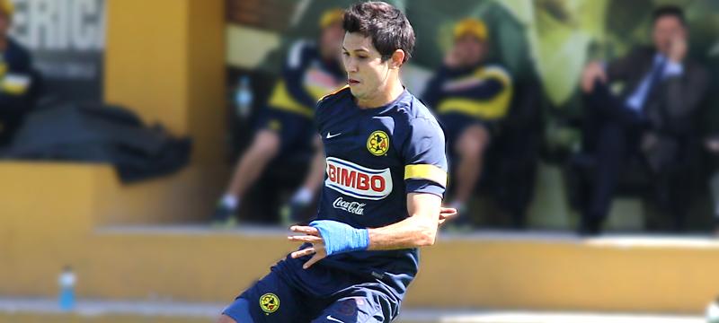 Jesús Molina se estrenó en el Estadio Azteca   Club América - Sitio ... 4c76c569935