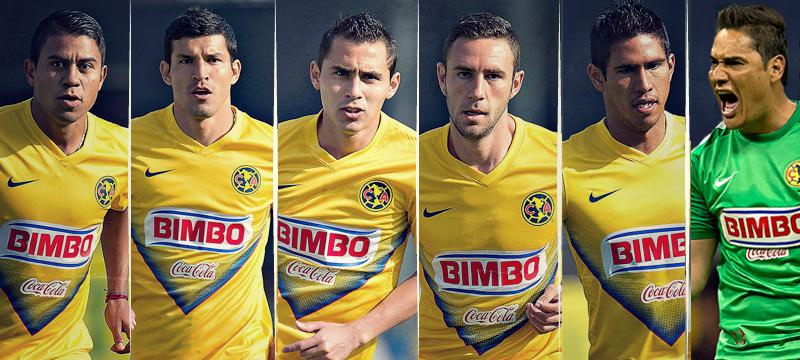 Americanistas convocados a Selección Nacional   Club América - Sitio ... 9bc8e95e3ad5d