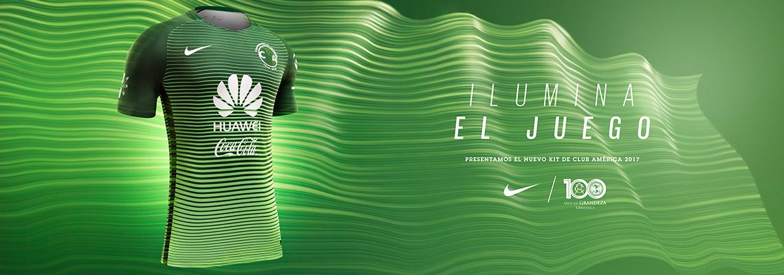 Tercer jersey Nike verde de Leyenda Águilas del América 7e1f8154487ee