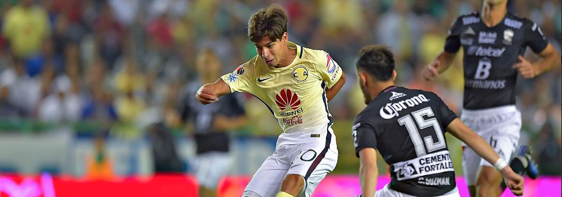 online retailer b5dc6 af784 El debut de Diego Lainez en Liga MX * Club América - Sitio ...