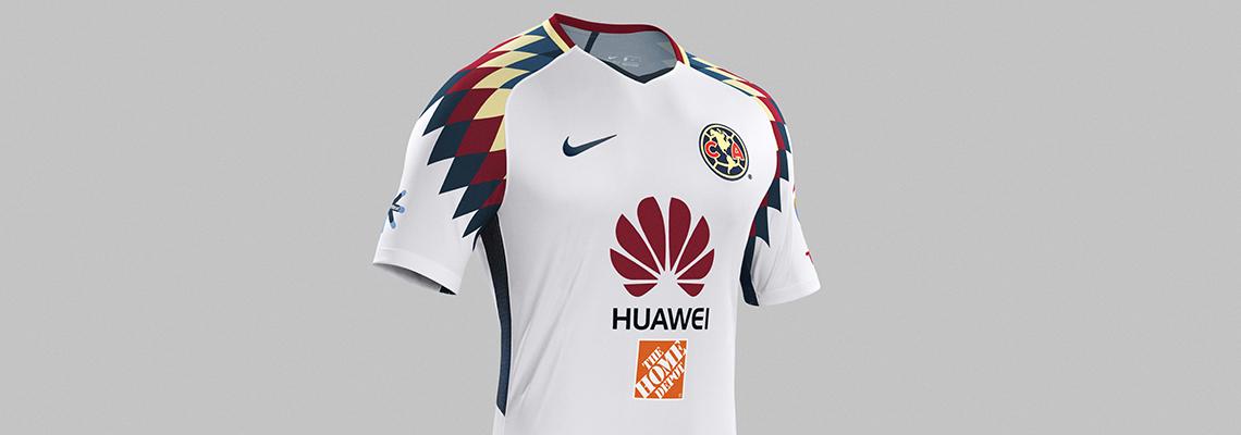 Nike Presenta  Nuevo Kit Visitante Club América Temporada 2017 2018 83ab559ae00