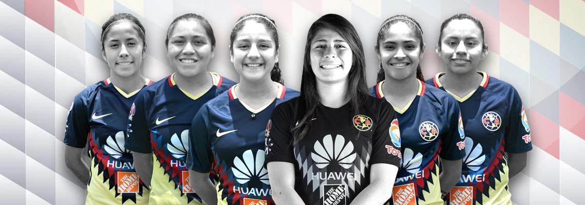 Seis jugadoras del América Femenil convocadas a Selección Nacional   Club  América - Sitio Oficial 60a170c932da5