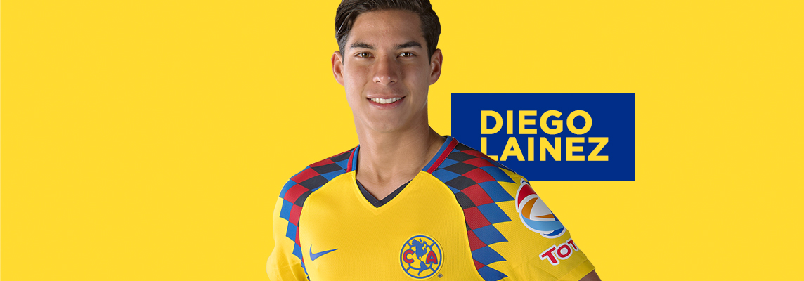 the best attitude 04569 c88df Diego Lainez Águila Tricolor * Club América - Sitio Oficial