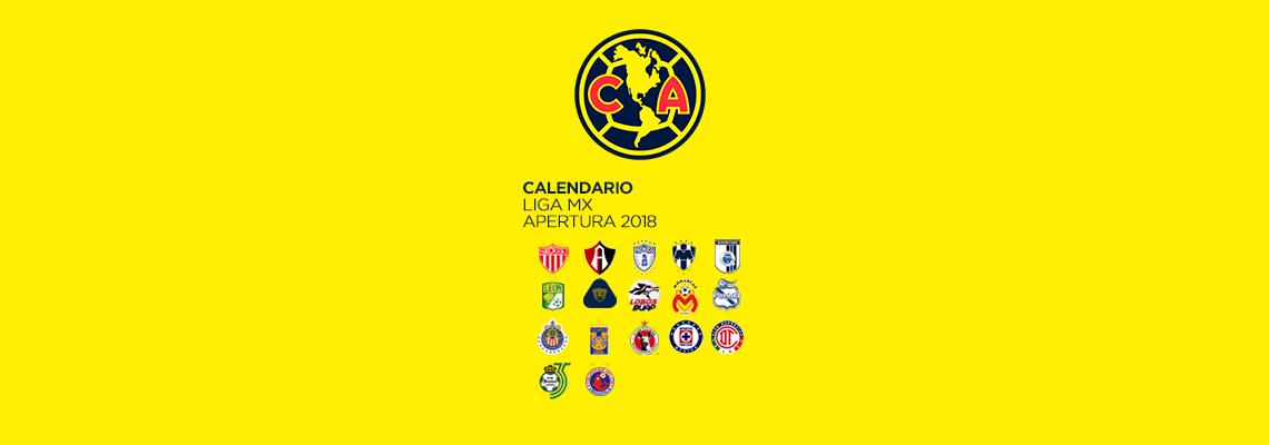Calendario Club América Apertura 2018   Club América - Sitio Oficial 9da31b8975a5d