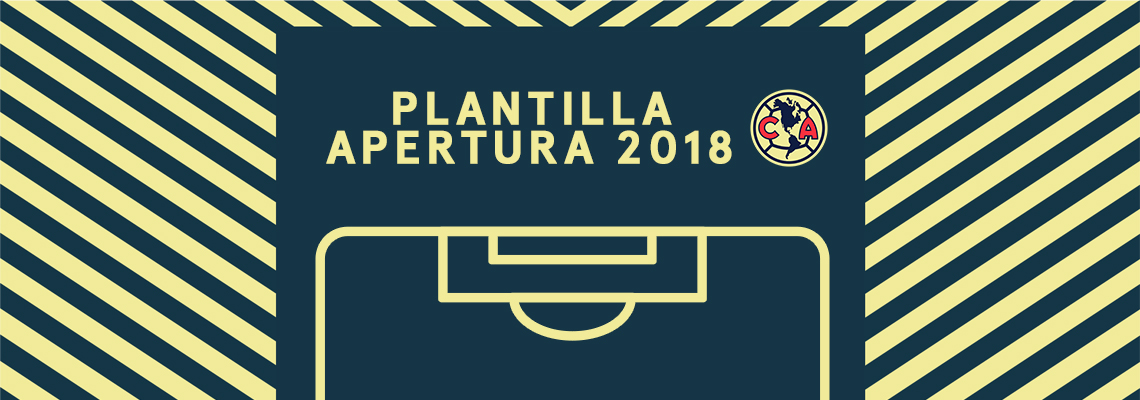 Plantilla Club América Apertura 2018   Club América - Sitio Oficial f6208a826514a