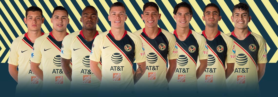 Ocho jugadores del Club América convocados en la Fecha FIFA   Club América  - Sitio Oficial 342811a835c2b