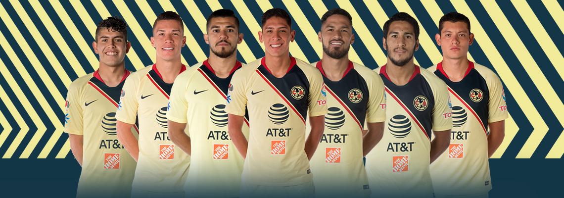 4f4909cabb7 Siete Águilas convocados para la Fecha FIFA * Club América - Sitio Oficial