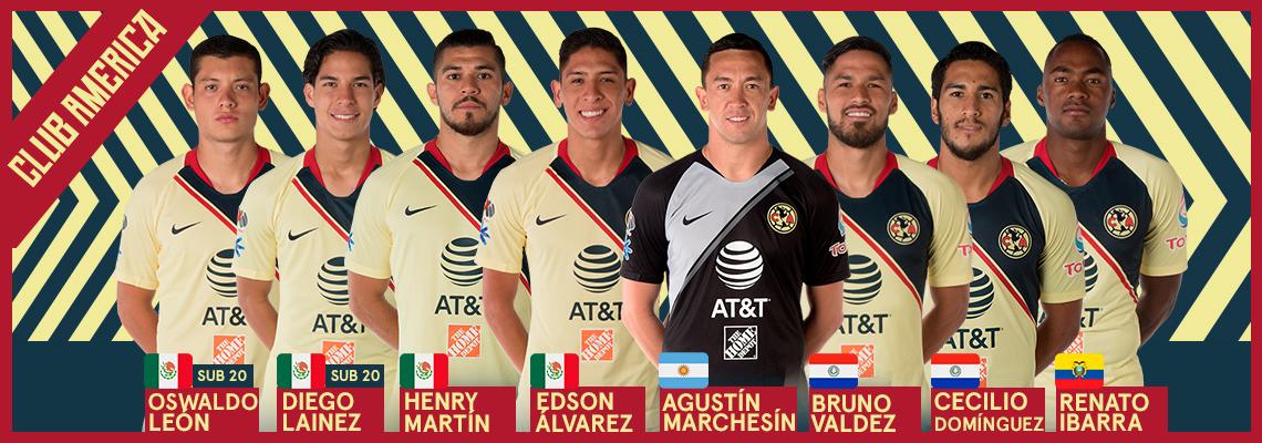 b634e3441e9 Ocho Águilas convocados para la Fecha FIFA * Club América - Sitio Oficial