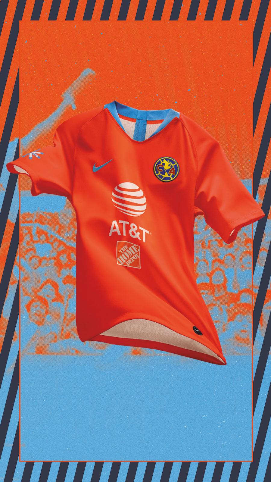 more photos f718e 61943 Tercer uniforme Club América 2019 * Club América - Sitio Oficial
