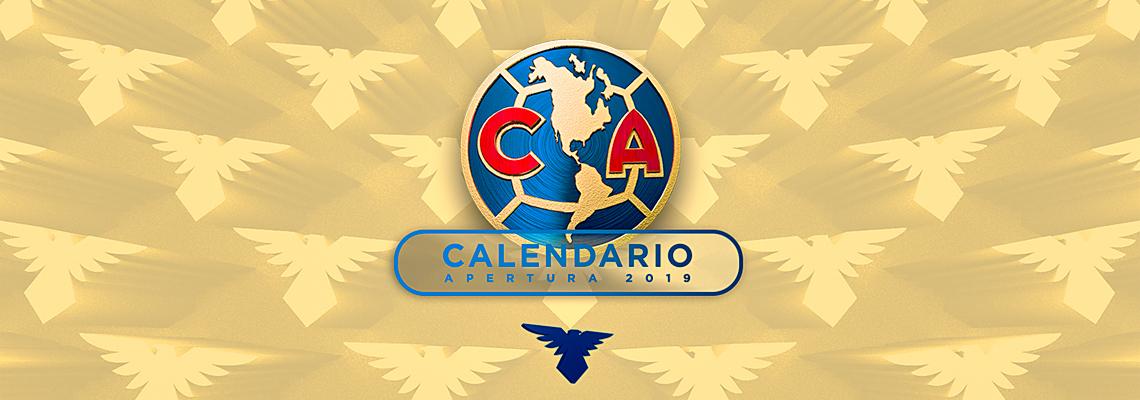 Calendario Liga Bbva 2020.Calendario Club America Apertura 2019 Club America Sitio