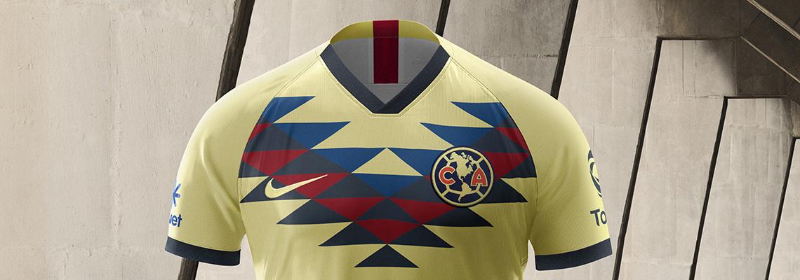 huge selection of 38b10 f0398 Nike futbol presenta: Nuevo kit de local Club América 2019 ...